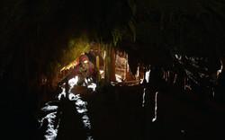 Passage bas - Grotte des Caranques - TA