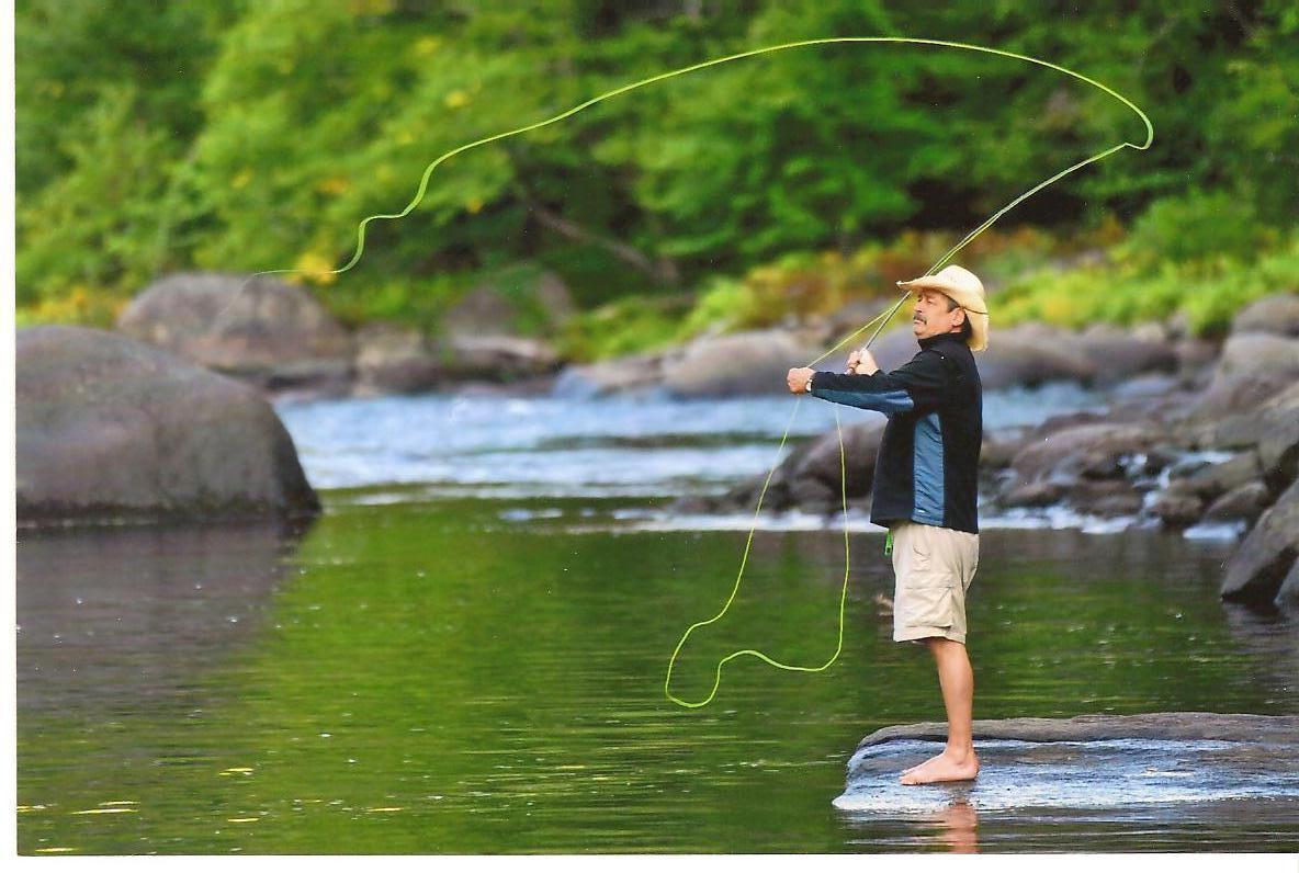 flyfishing on the Hudson