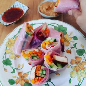 Vietnamische Rollen mit Tofu – 두부 월남쌈