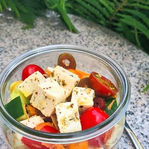 Sommersalat mit Tofu  – 두부 여름 샐러드