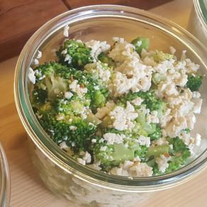Tofu Brokkoli Salat - 브로콜리 두부 부침