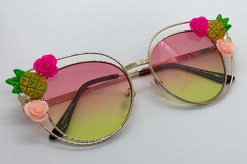 Sunnies-pineapple pink