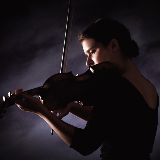 Senior Portrait Violinist