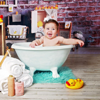 Rubber Duck Bathtub Portraits