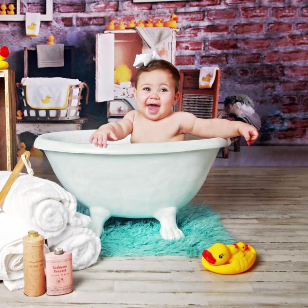 Rubber Duck Bathtub Portraits