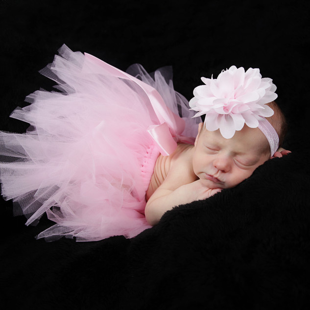 Newborn Portrait in Pink Tutu
