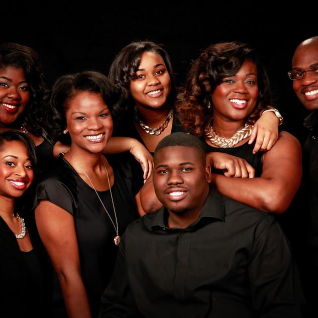Family of Six Portrait