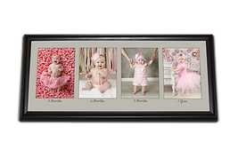 3, 6, 9 & 12 month photography baby panel