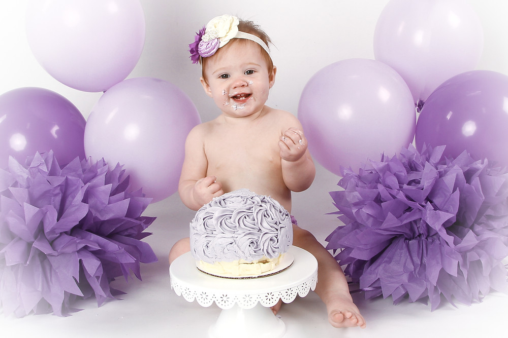 Baby's First Birthday Cake Smash
