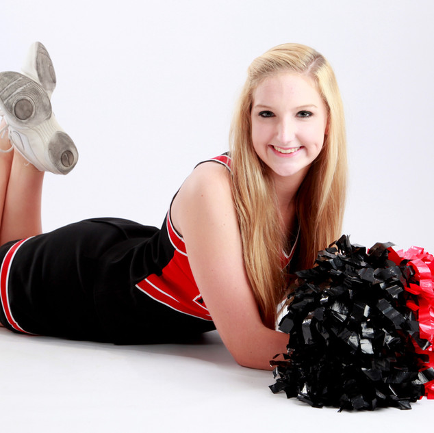 Senior Cheerleader Portrait