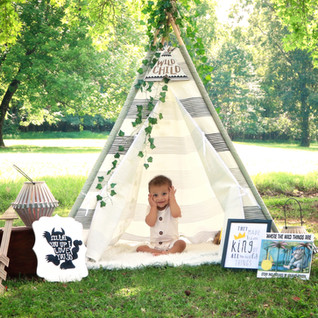Wild Things Outdoor Tent Portrait