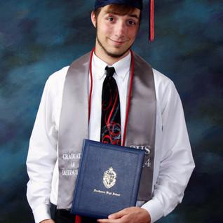 Cap, Gown & Diploma Portrait