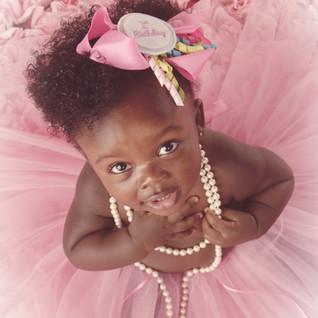 Baby Girl in Pink Tutu