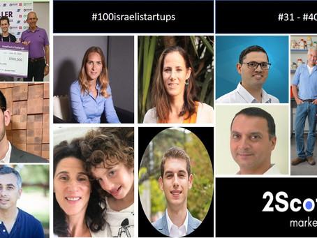 31-40 of #100israelistartups
