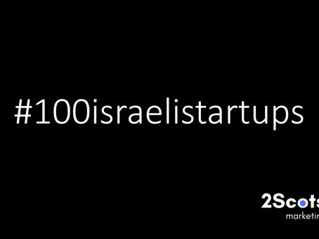 #100israelistartups - Numbers 11-20