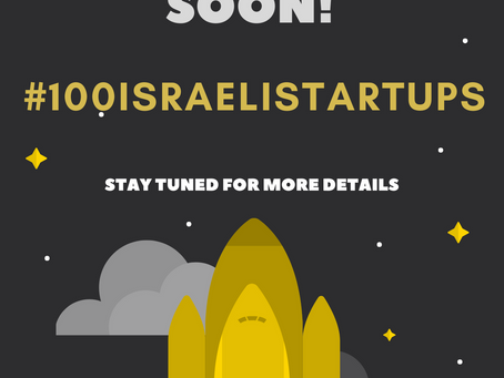 Launching #100israelistartups