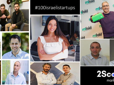 #21-30 of our #100israelistartups