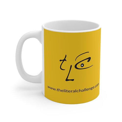 Yellow Mug: I'm literally challenged