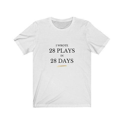 T-shirt: 28 Plays Later