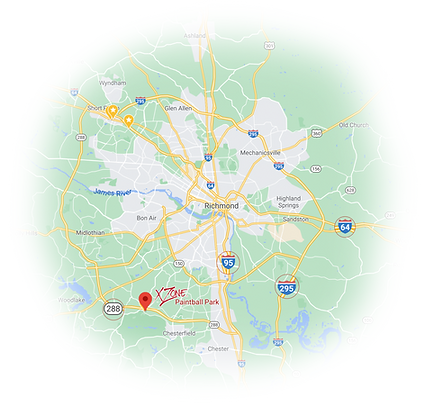XZone located in Chesterfield County, south of Richmond VA