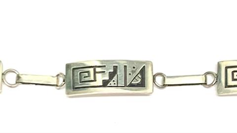 """9"""" Hopi link bracelet"""