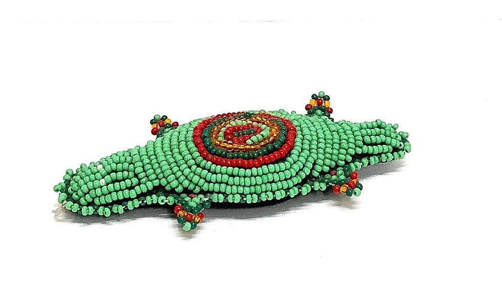 Green beaded lizard
