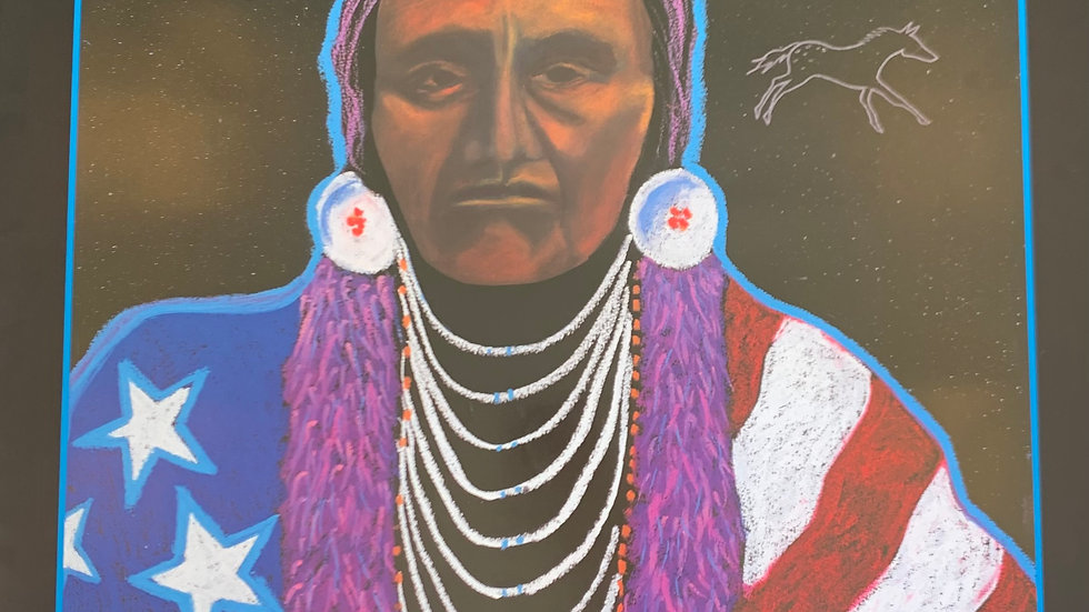 Chief Joseph, New Pierce Nation. My Heroes Have Always Been Indian, 1994