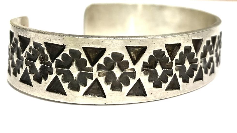 """1/2"""" stamped bracelet"""