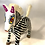 Thumbnail: Black and white Zebra Oaxaca Alebrije