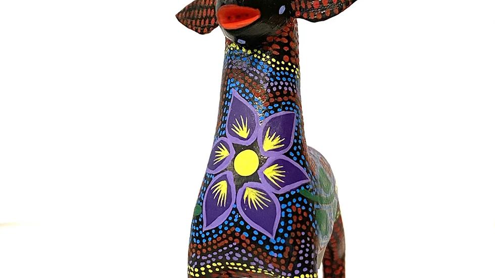 Purple deer Oaxacan Alebrije