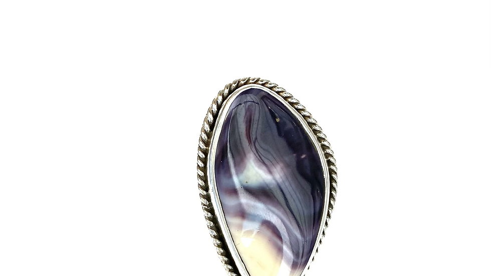 Wampum shell ring