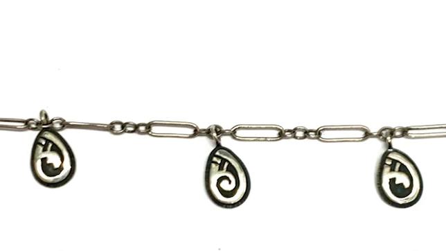 Hopi charm bracelet