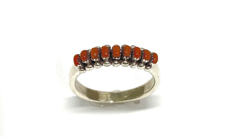 Coral petit ring