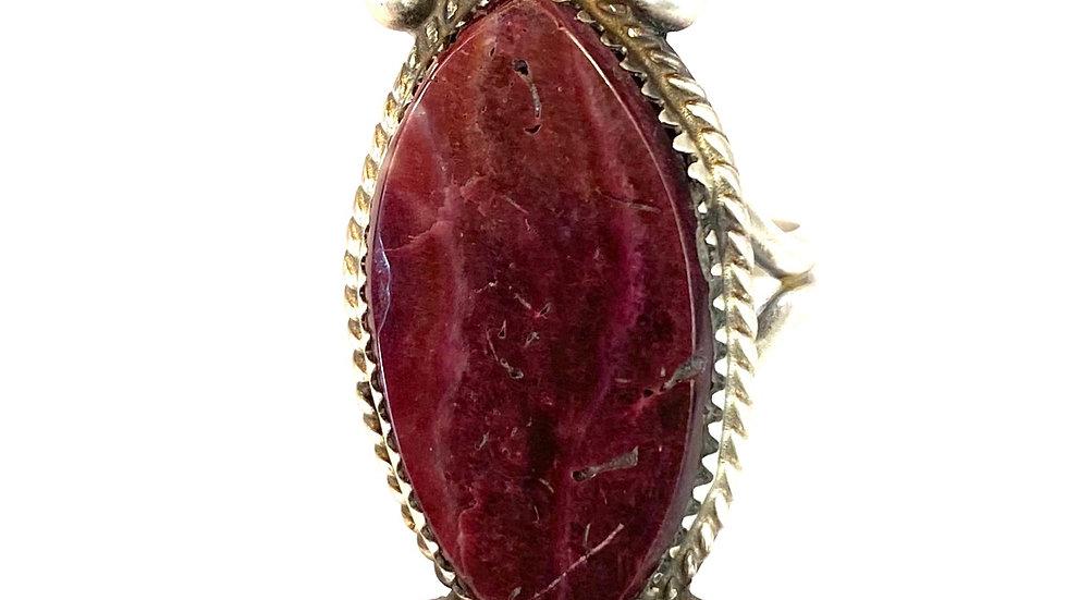 Purple shell ring