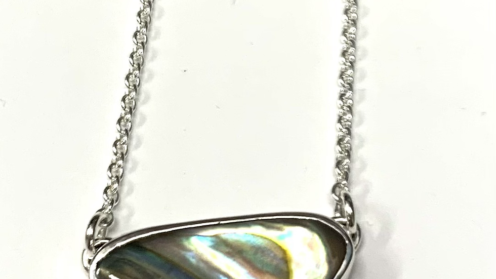 Abalone necklace 16 inches