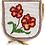 Thumbnail: Beaded flower belt pouch vintage