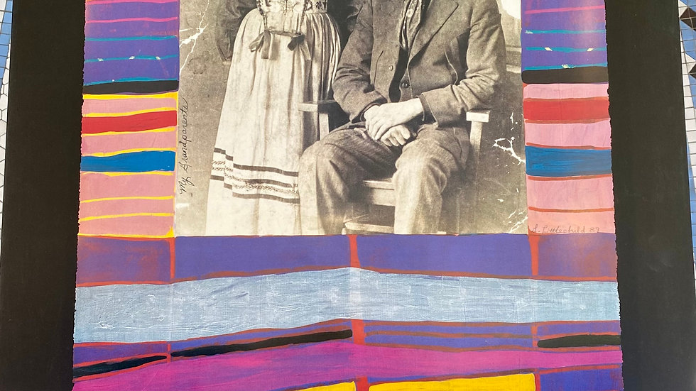 Plains Cree Ancestral Blanket #3: Edward Littlechild & Marie Isabelle Bull, My G