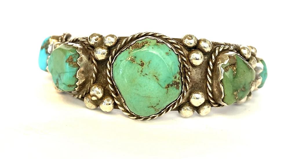 Turqouise 5 stone bracelet