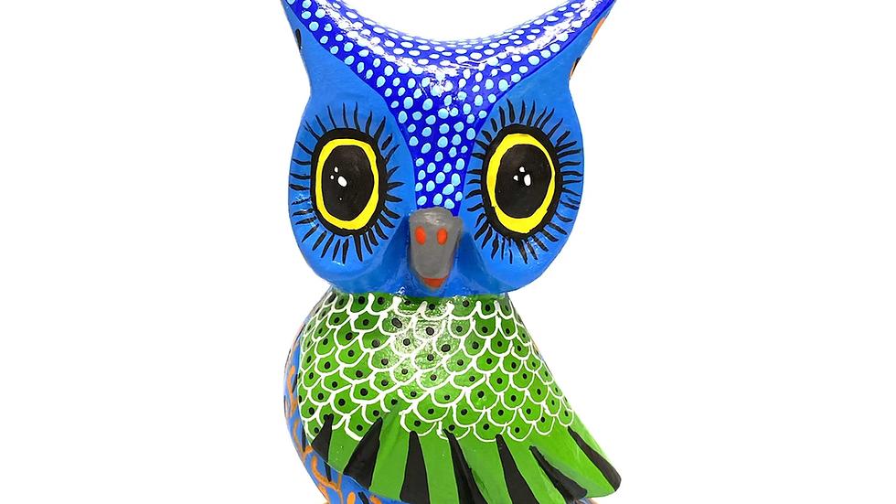Blue Owl Oaxacan Alebrije