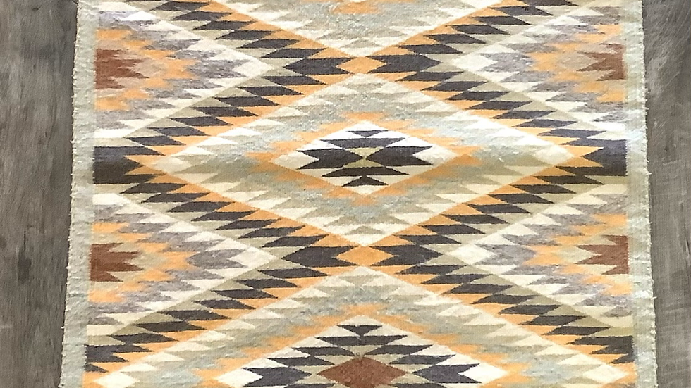Taupe Navajo rug