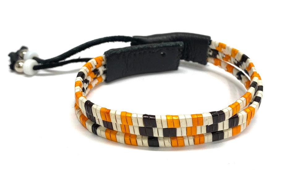 Snap porcupine bracelet