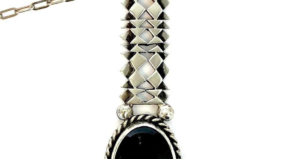 David Ipiña onyx pendant