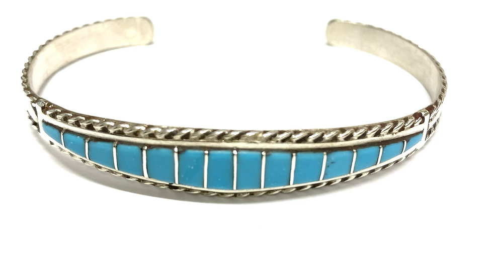 Turquoise inlay bracelet