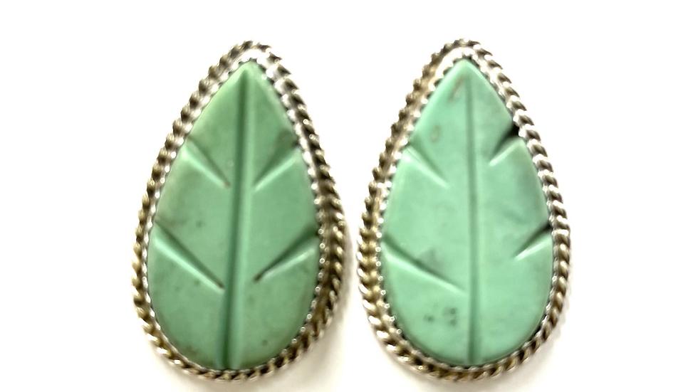 Green turquoise ears