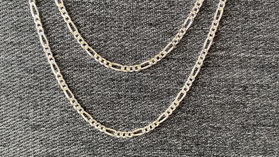 """22"""" Figaro chain"""