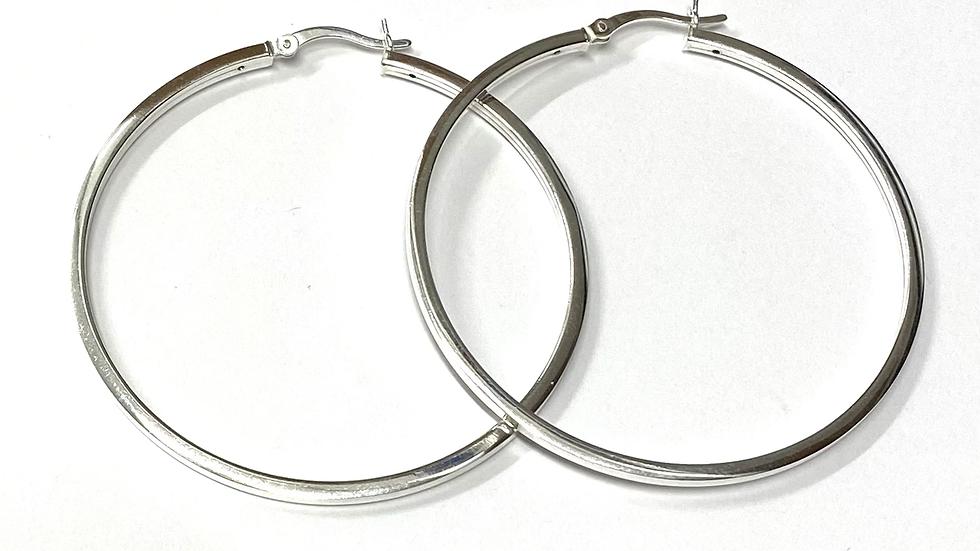 """2"""" Hoop earrings"""