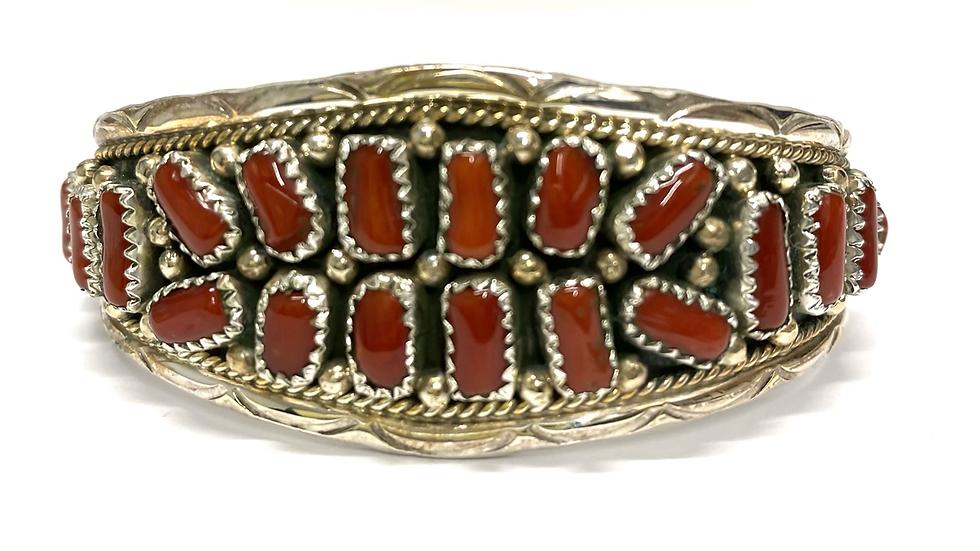 20 coral stone bracelet