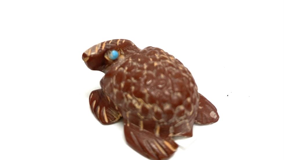 Red turtle Zuni fetish