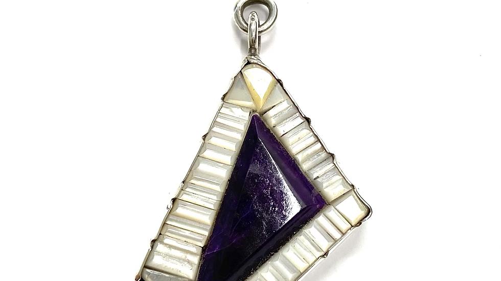 Henry Rosetta Sugilite pendant