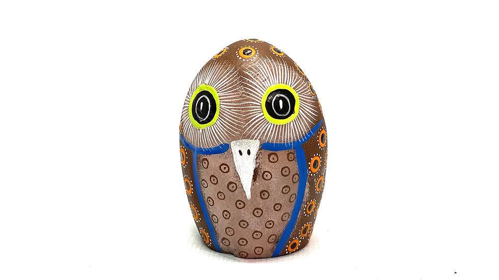Brown Owl Oaxacan Alebrije